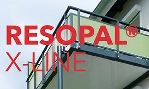 RESOPAL® X-LINE