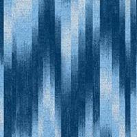 Baltic Blue Ikat