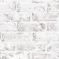 Whitewashed Brick