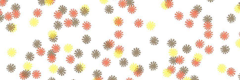 Autumn Lights Daisy Y0039 Laminate Countertops