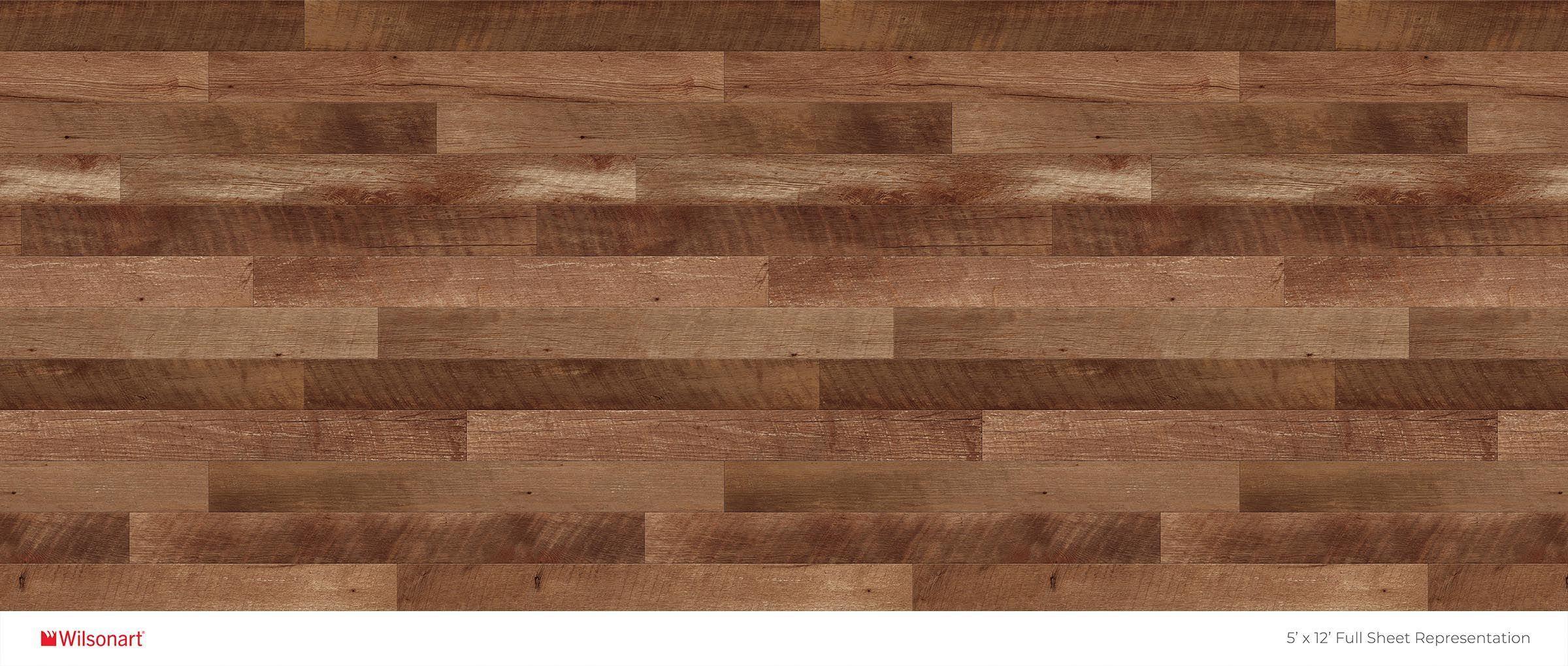 Planked Coffee Oak 4 x 8 Formica Sheet Laminate