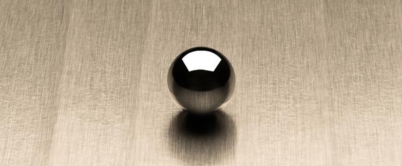 Ribboned Satin Brushed Palladium L6445 Decorative Metal Countertops