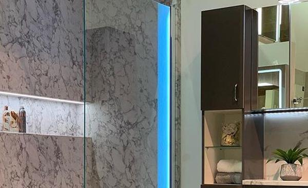 Wisteria Kitchens: Beautifying Bathrooms with Bushboard Nuance Wall Panels