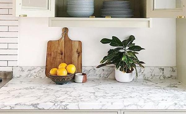 Bushboard Options for a Low Maintenance, Luxury Look in a Bespoke Kitchen