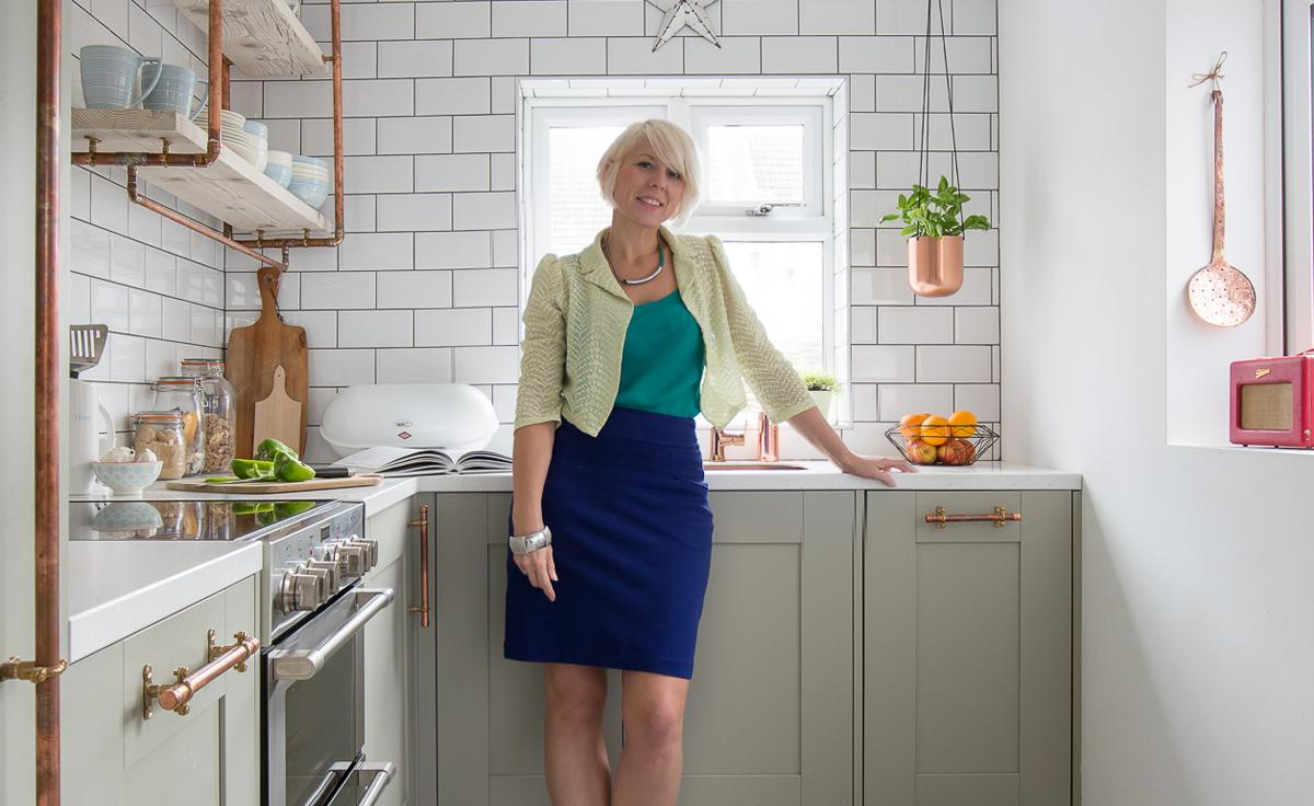Award Winning Blogger Chooses Wilsonart Earthstone Worktop
