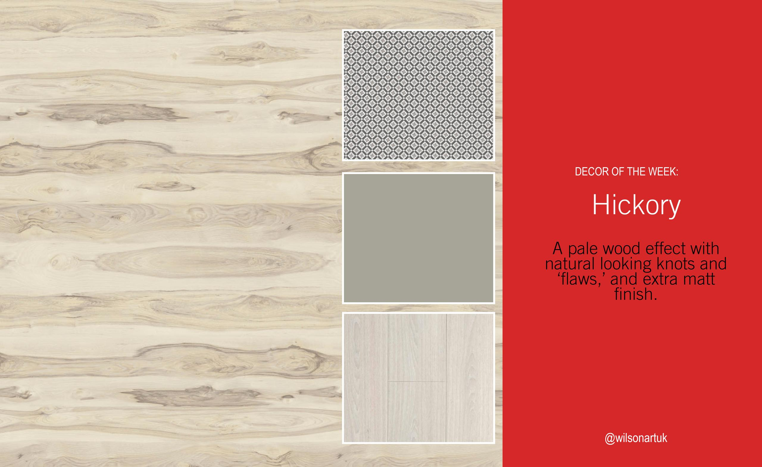 Decor of the Week: Hickory