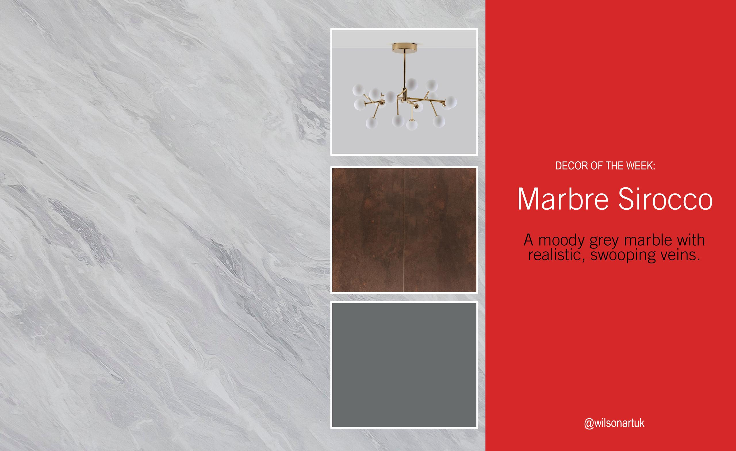 Decor of the Week: Marbre Sirocco