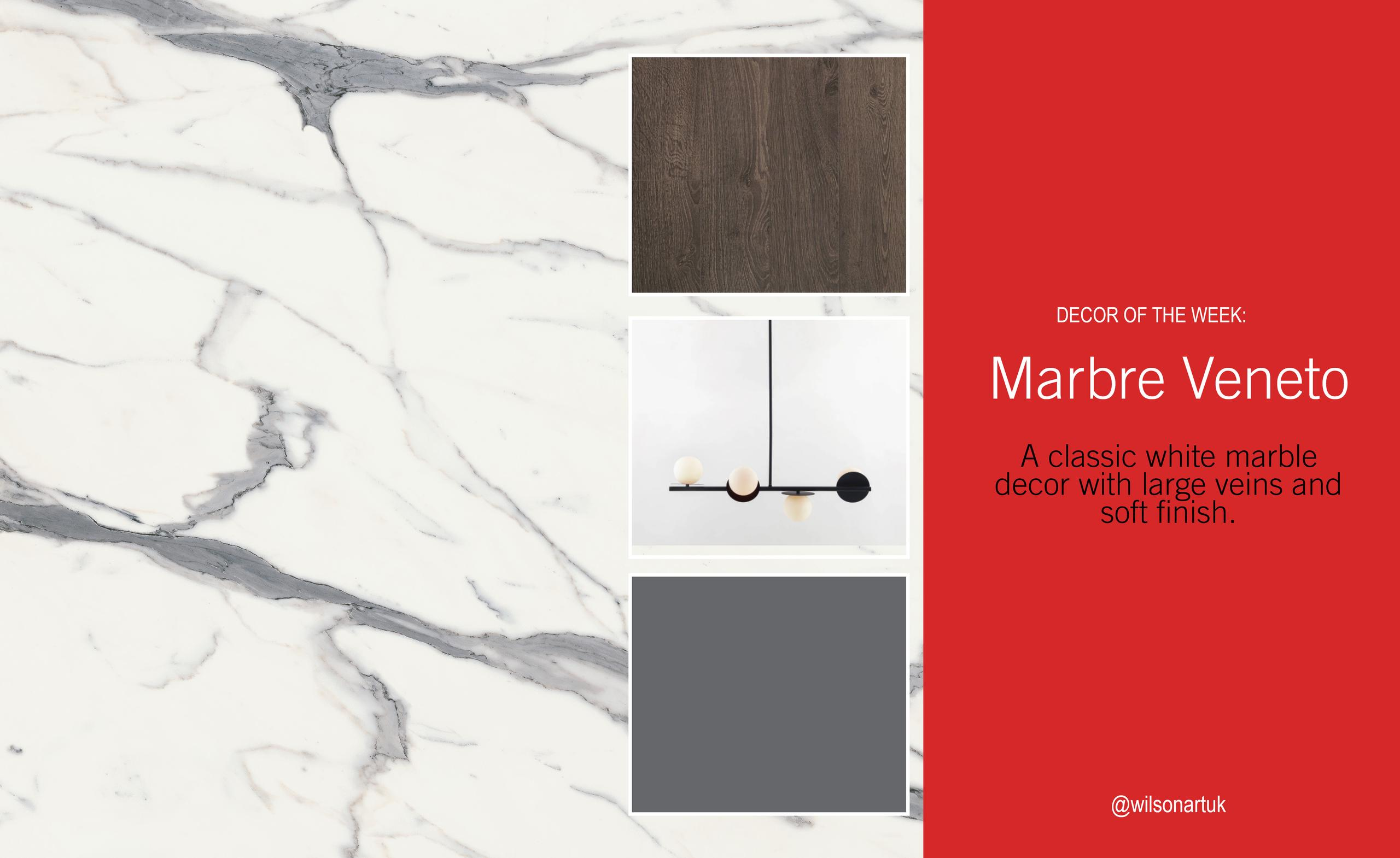 Decor of the Week: Marbre Veneto
