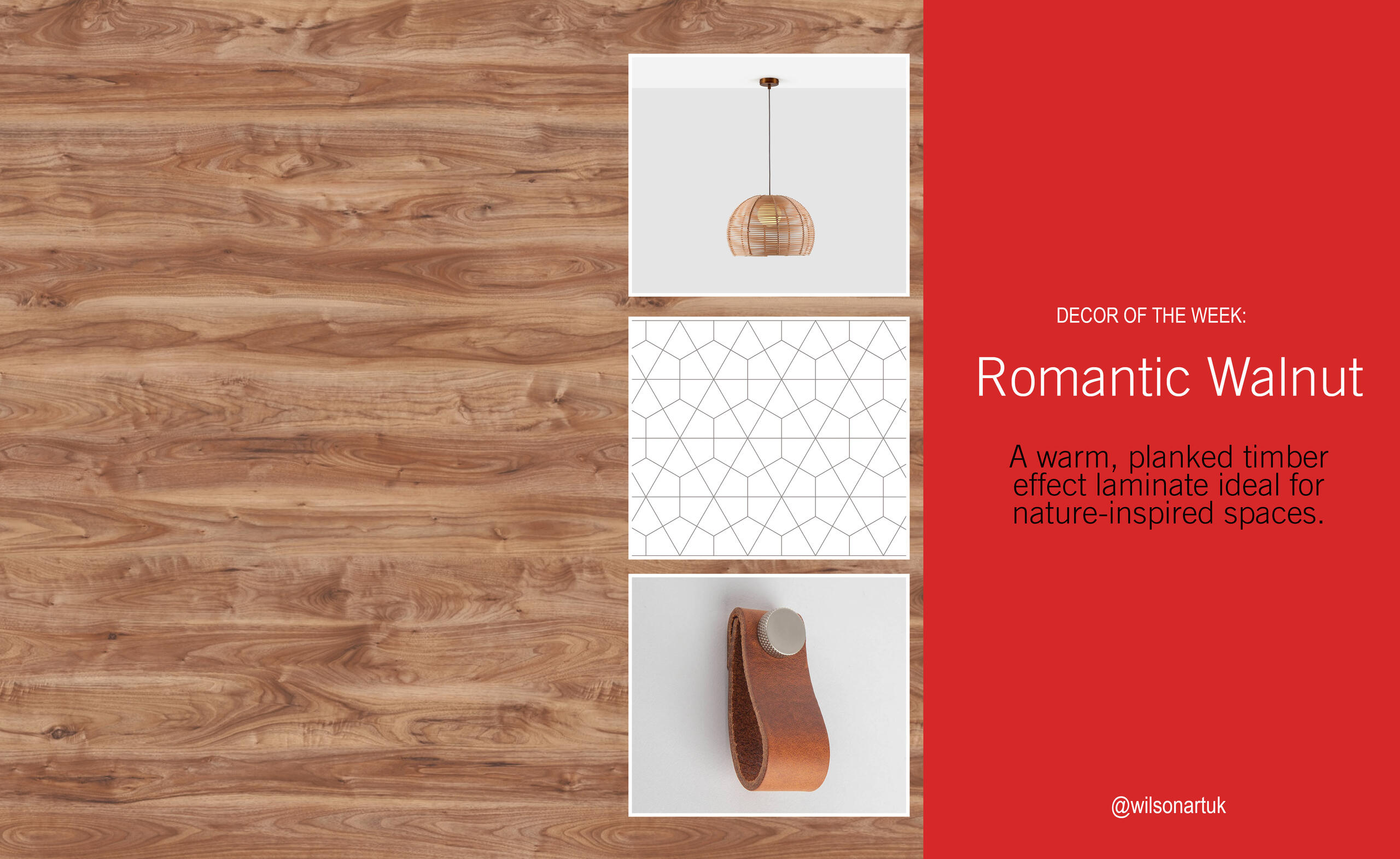 Decor of the Week: Romantic Walnut