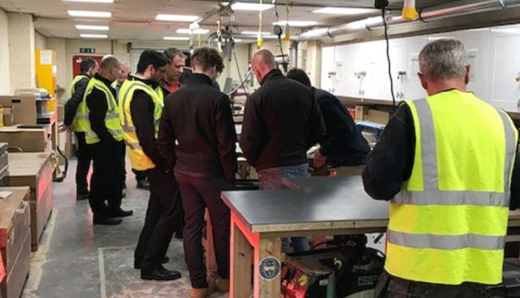 How to Fit the Perfect Kitchen Worktop: Bespoke Hands On Training for Symphony Installers