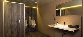 Toilettenanlage der Formex AG