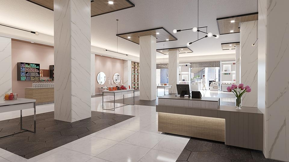 Clean and Modern Retail Space