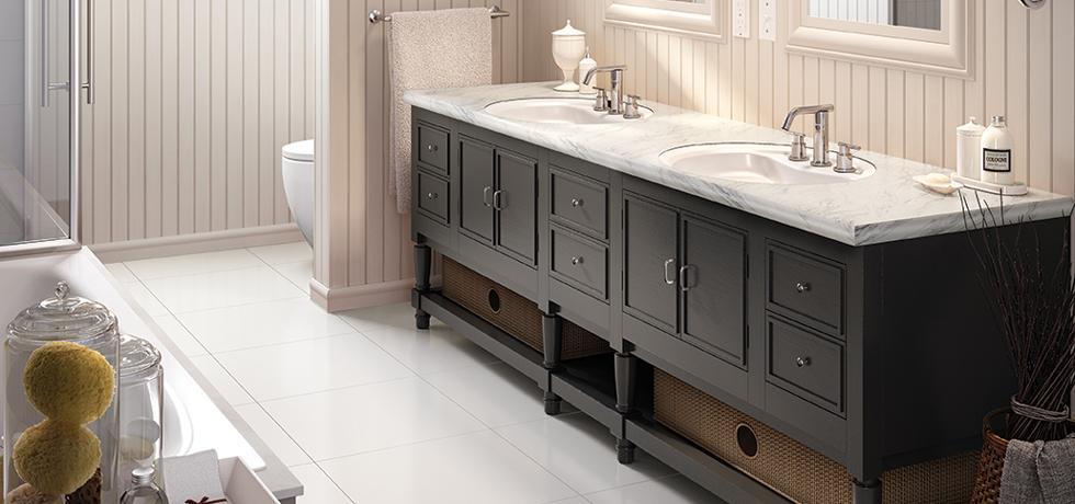 Calcutta Marble, 4925 Bath