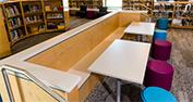 Menchaca Elementary School | Library Booth