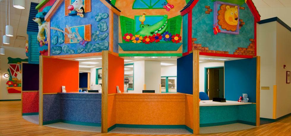 All Children's Specialty Hospital Nurse's Station