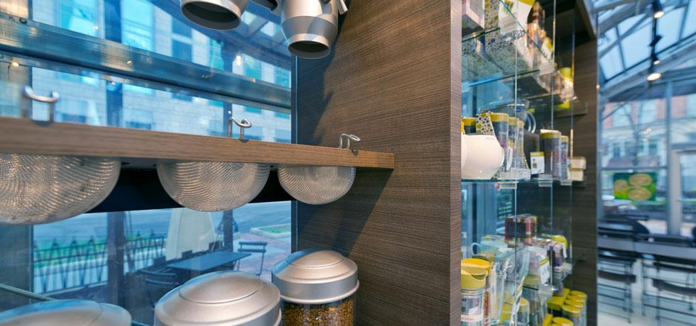 Argo Tea Cabinets and Casegoods