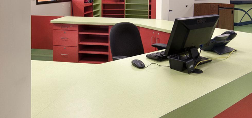 Boys and Girls Club of Kenosha Reception Desk 2