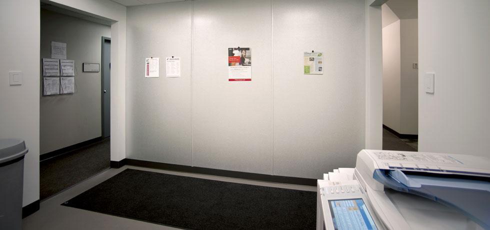 Temple North Facility Copier Room