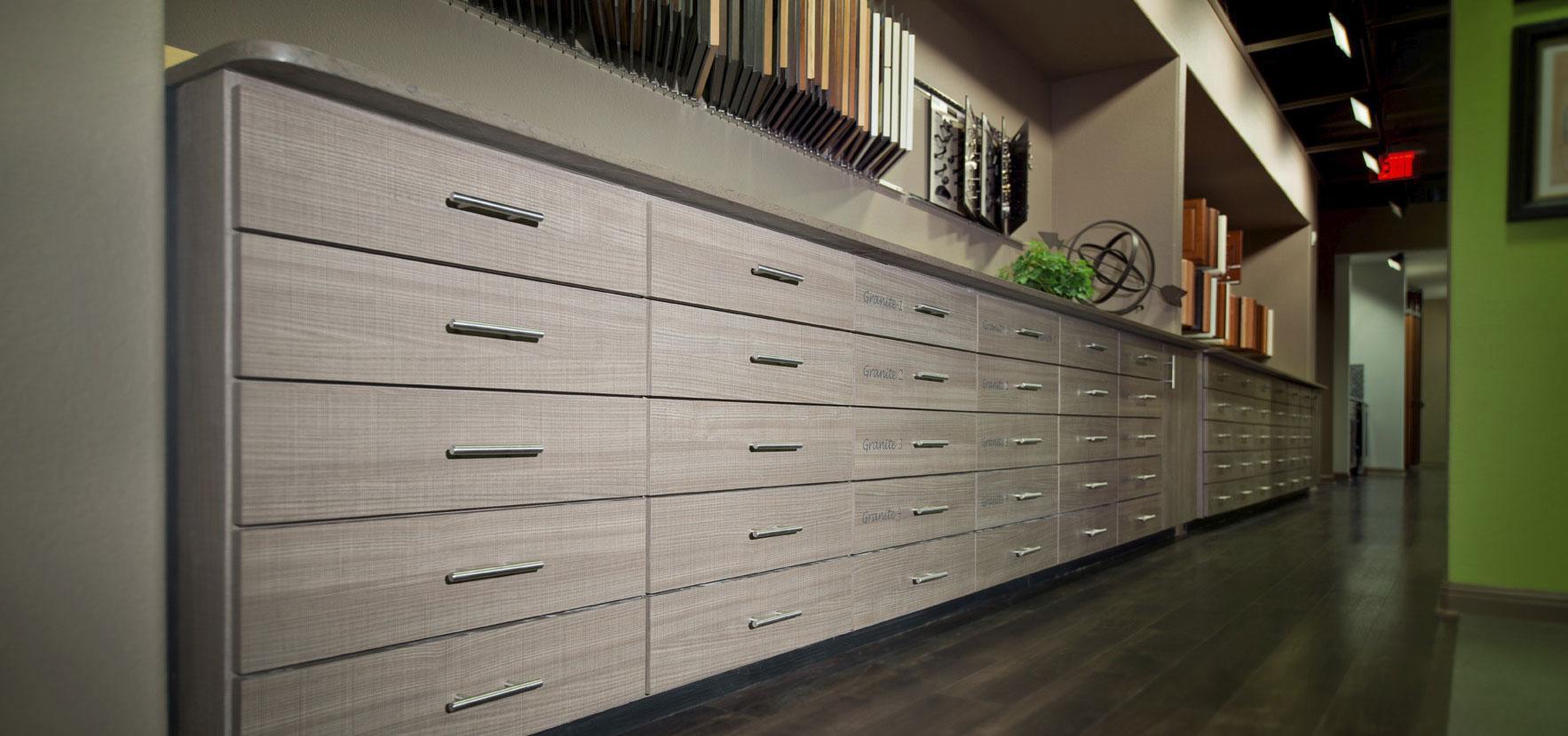 DR Horton Design Center Cabinets