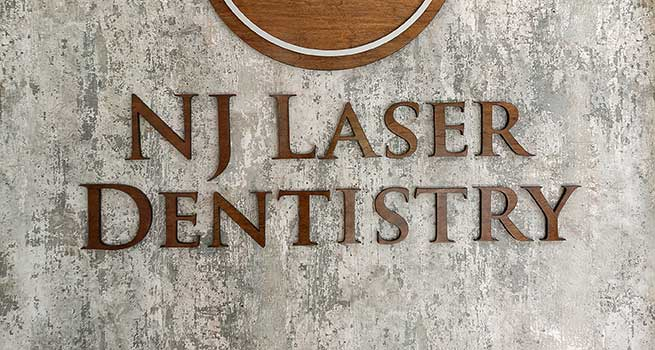 NJ Laser Dentistry | Lobby Wall