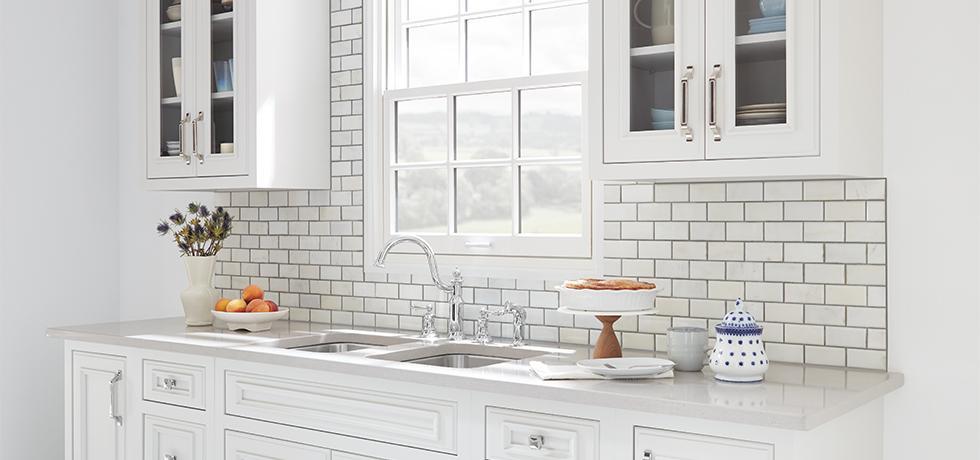 Colonial Kitchen | Wilsonart Quartz