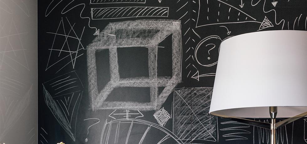 Kerry Washington For Naturally, Danny Seo | Chalkboard Laminate