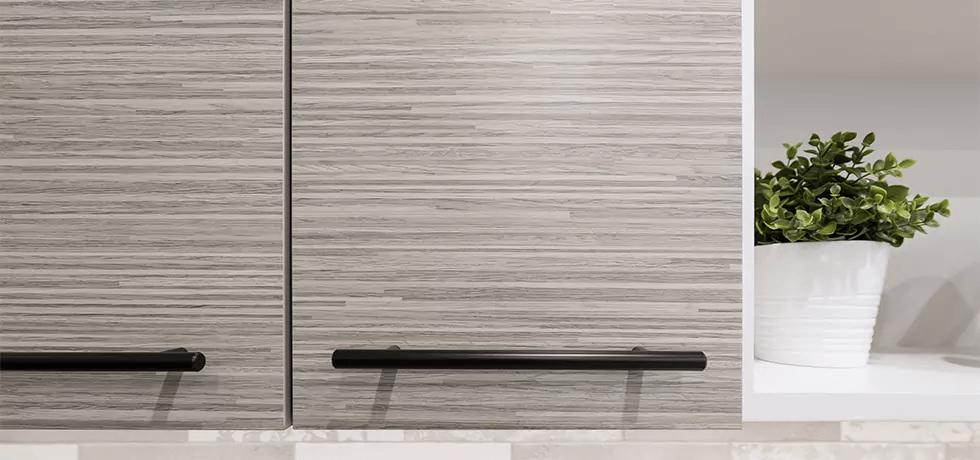 Breakroom Cabinets | Laminate in Silver Oak Ply