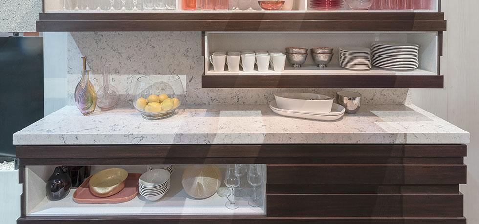 KBIS 2018   Pantry   Reticulated Cabinets