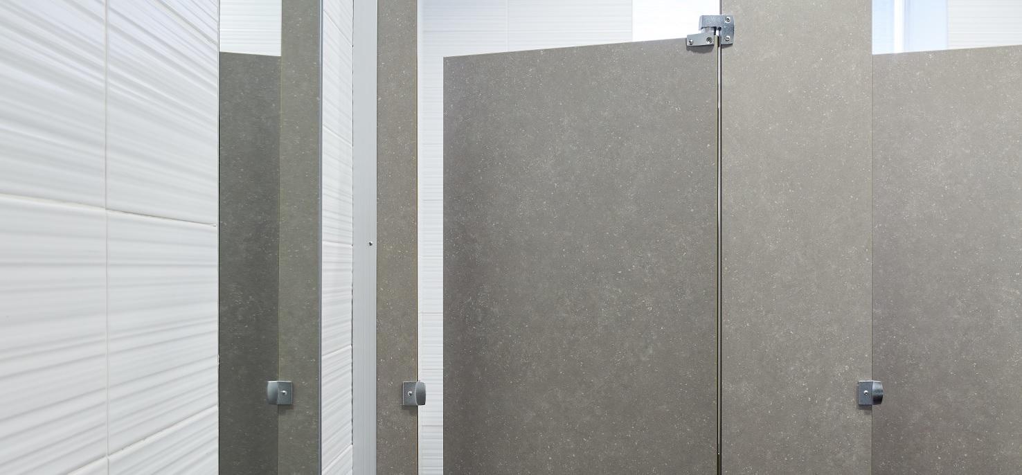 Inukshuk Grey - Commercial bathroom close-up