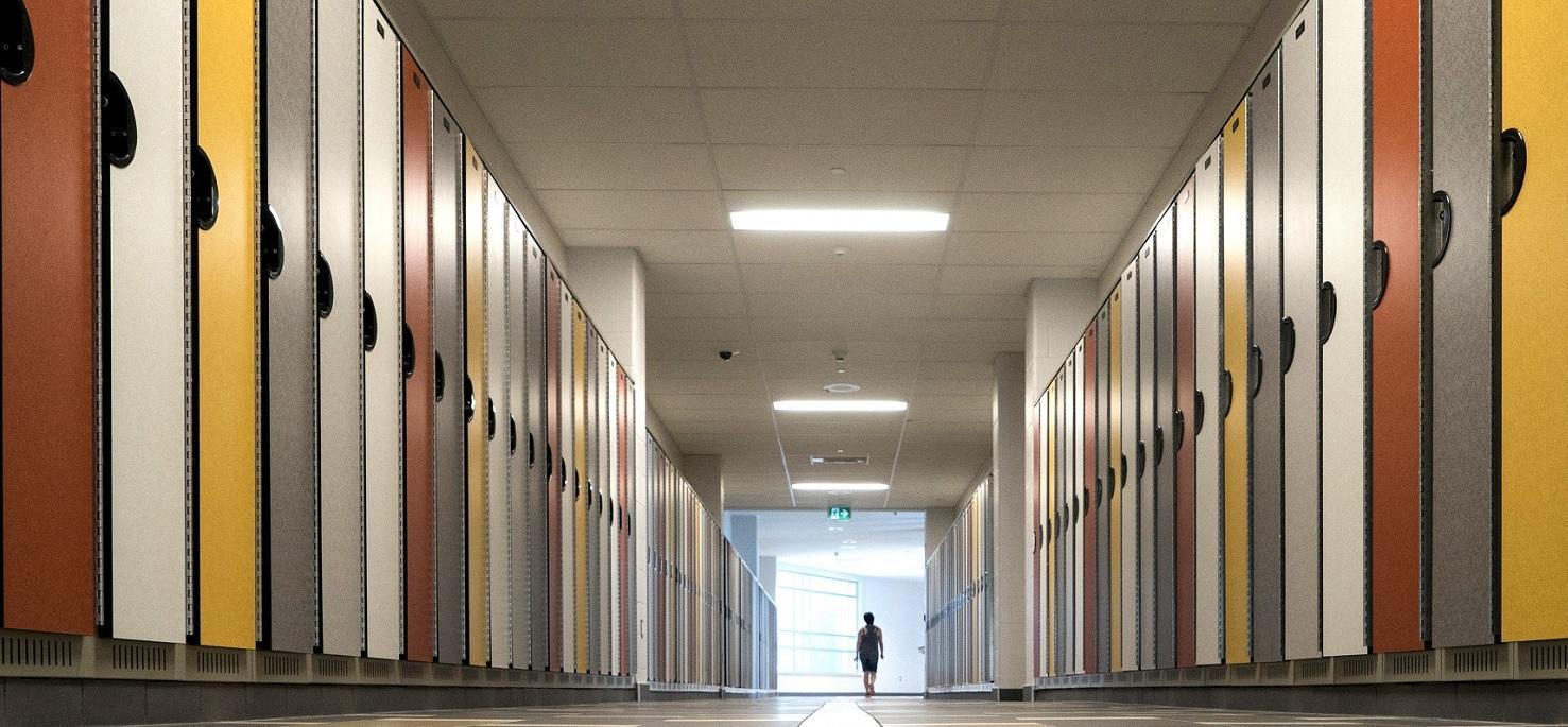 Twill collection Avon Amitland School District lockers