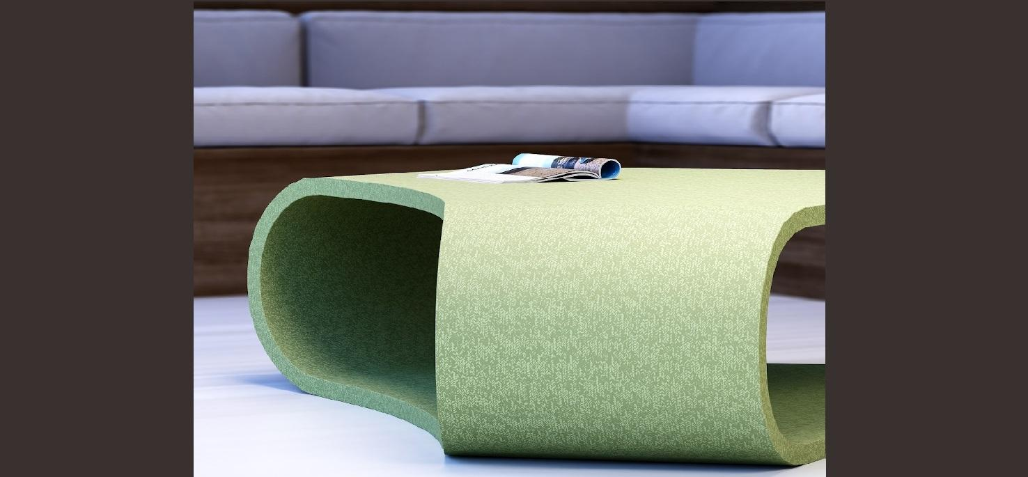 Olive Twill - Coffee table
