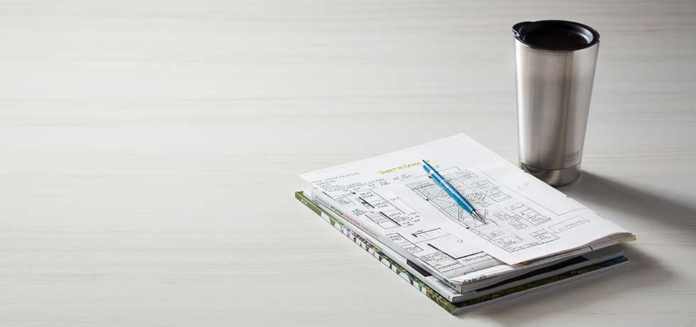 Office Space Countertop | Compact Laminate