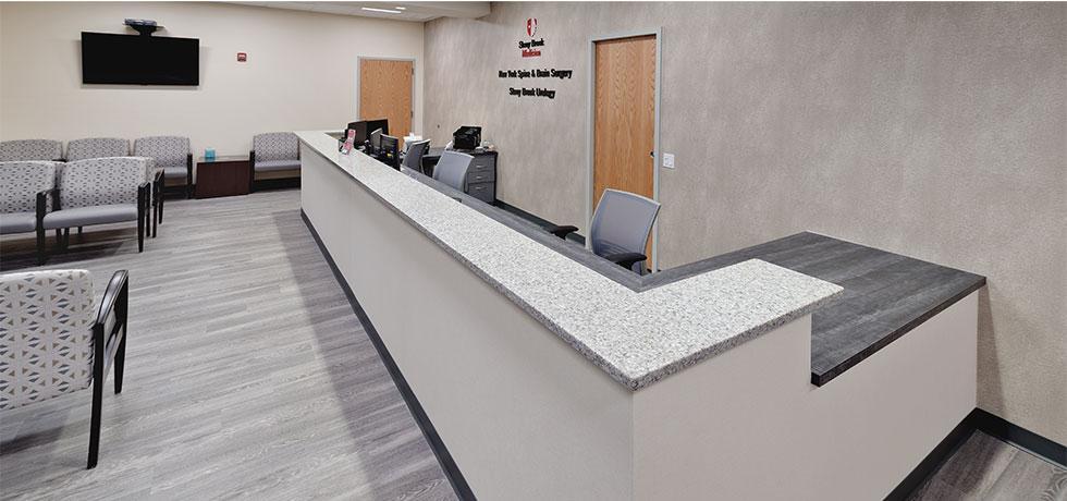 Stony Brook | Reception Waiting Room