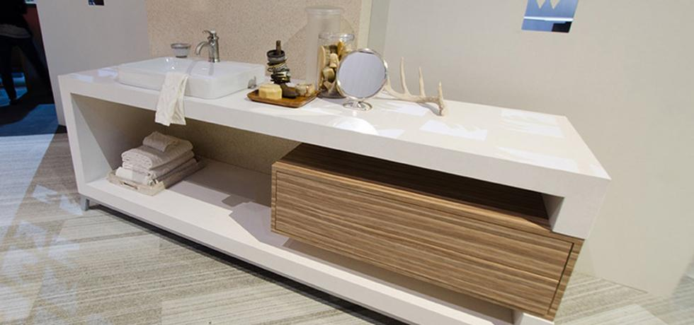 Spa Vanity featuring Niwa Quartz