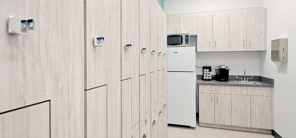 Stony Brook   Staff Locker and Breakroom