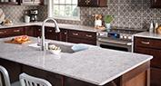 Tellaro Quartz | Welcoming Transitional Kitchen