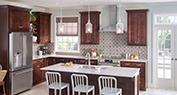 Inviting Kitchen   Semi-Translucent Quartz