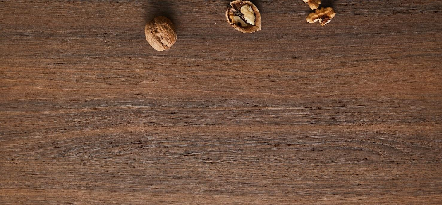 Coppered Artisan Walnut Close up