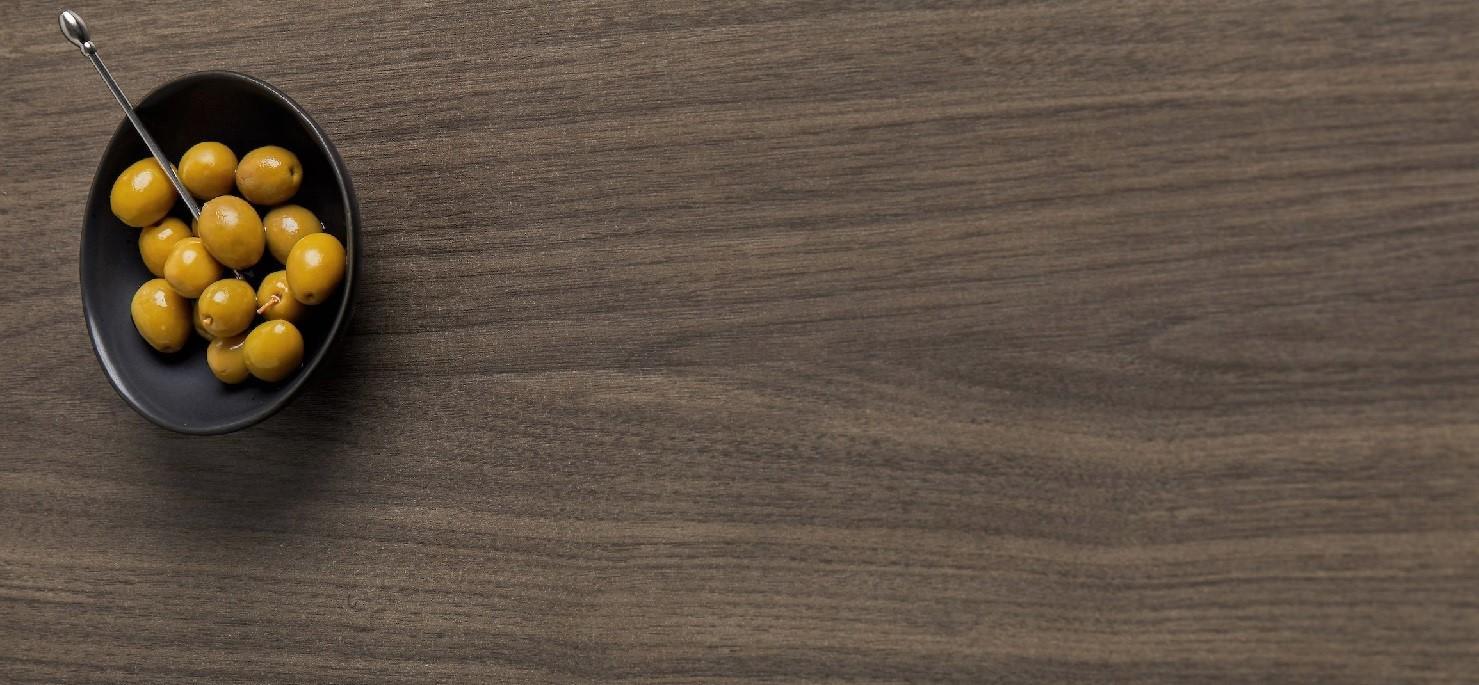 Refined Artisan Walnut Close up