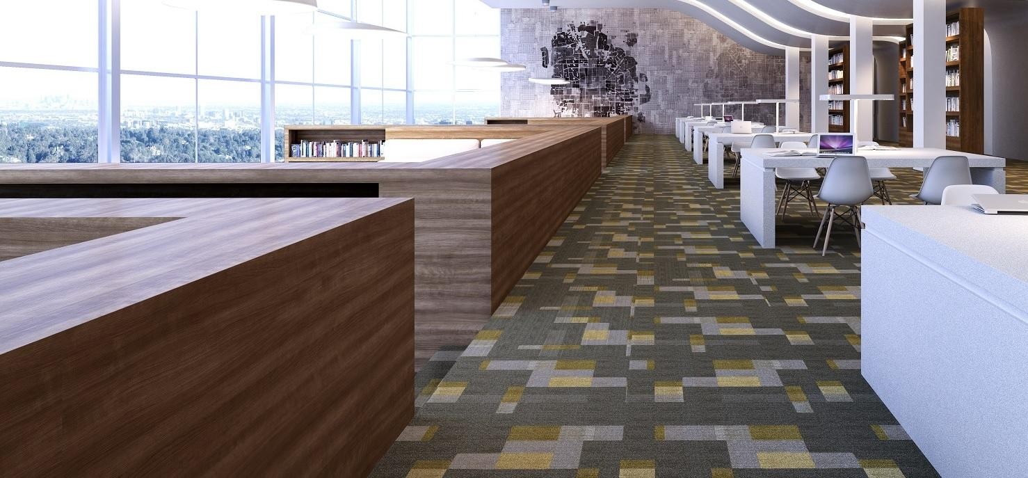 Auburn Modern Cherry Library