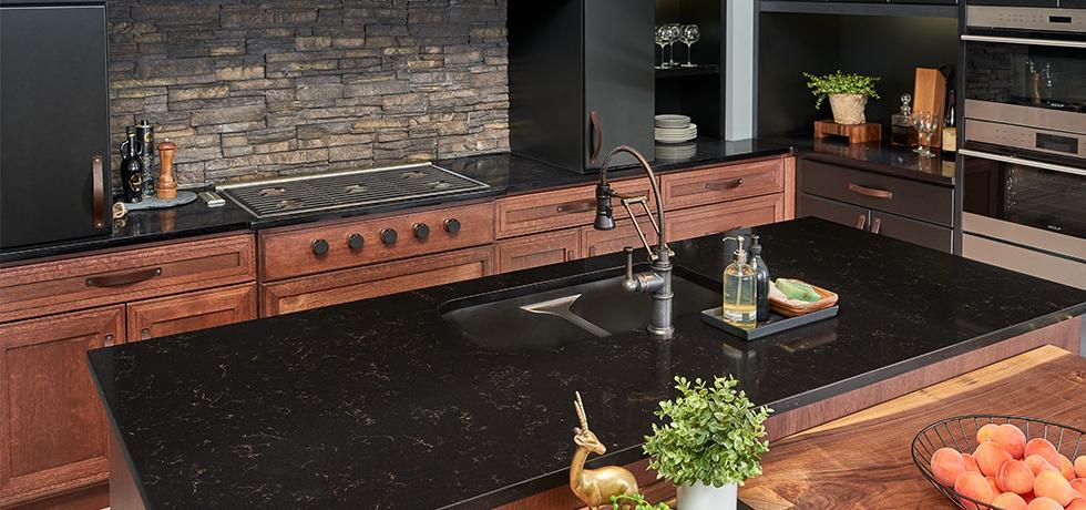 Aspen Retreat | Quartz Kitchen